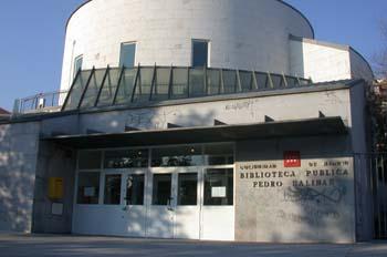Biblioteca Pública Pedro Salinas, Madrid