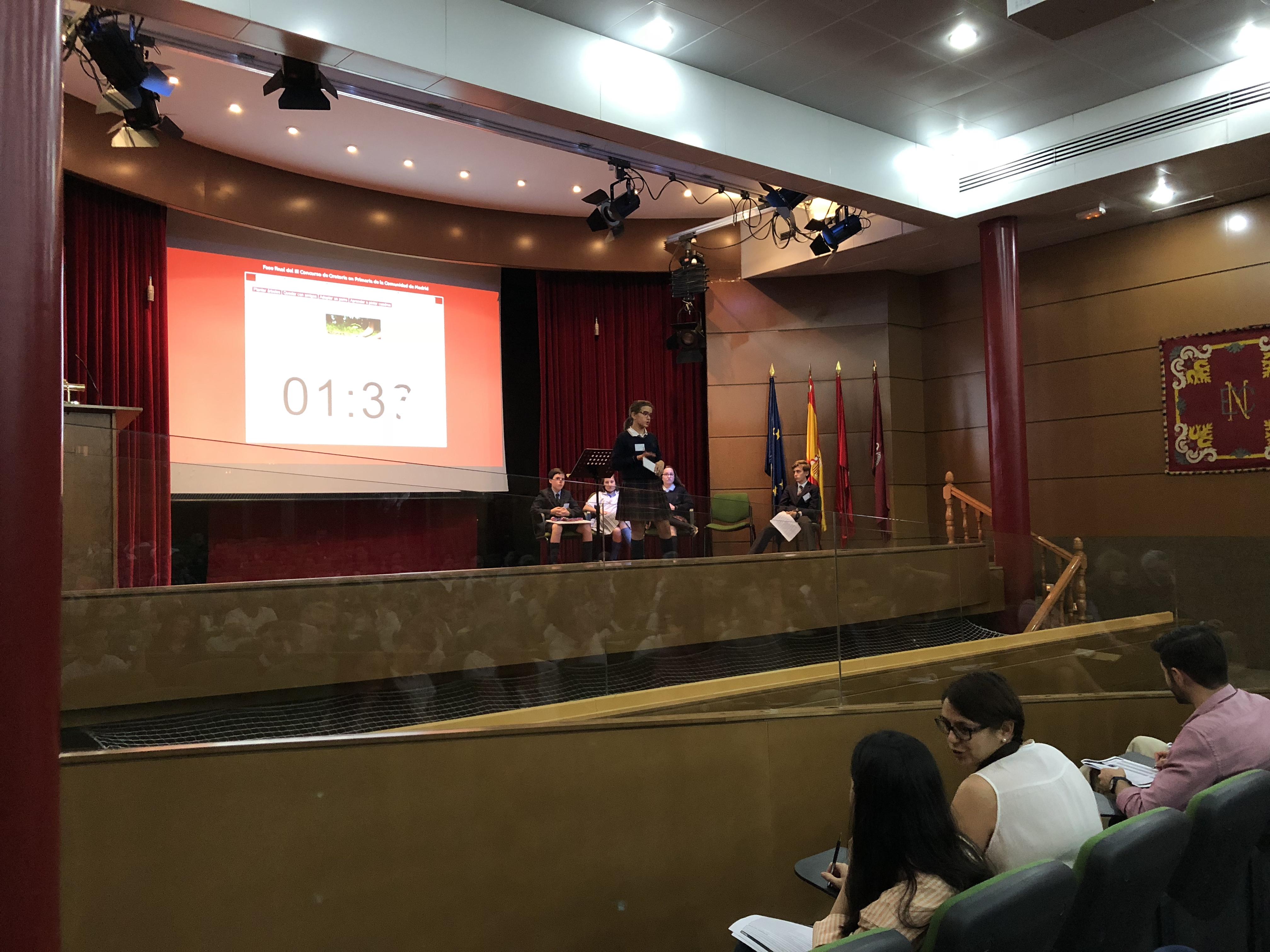 Fase final del III Concurso de Oratoria en Primaria de la Comunidad de Madrid 5