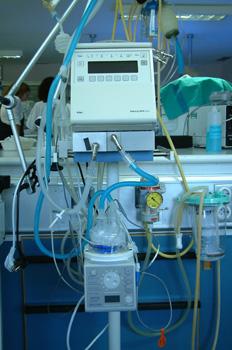 Cafetera para respirador