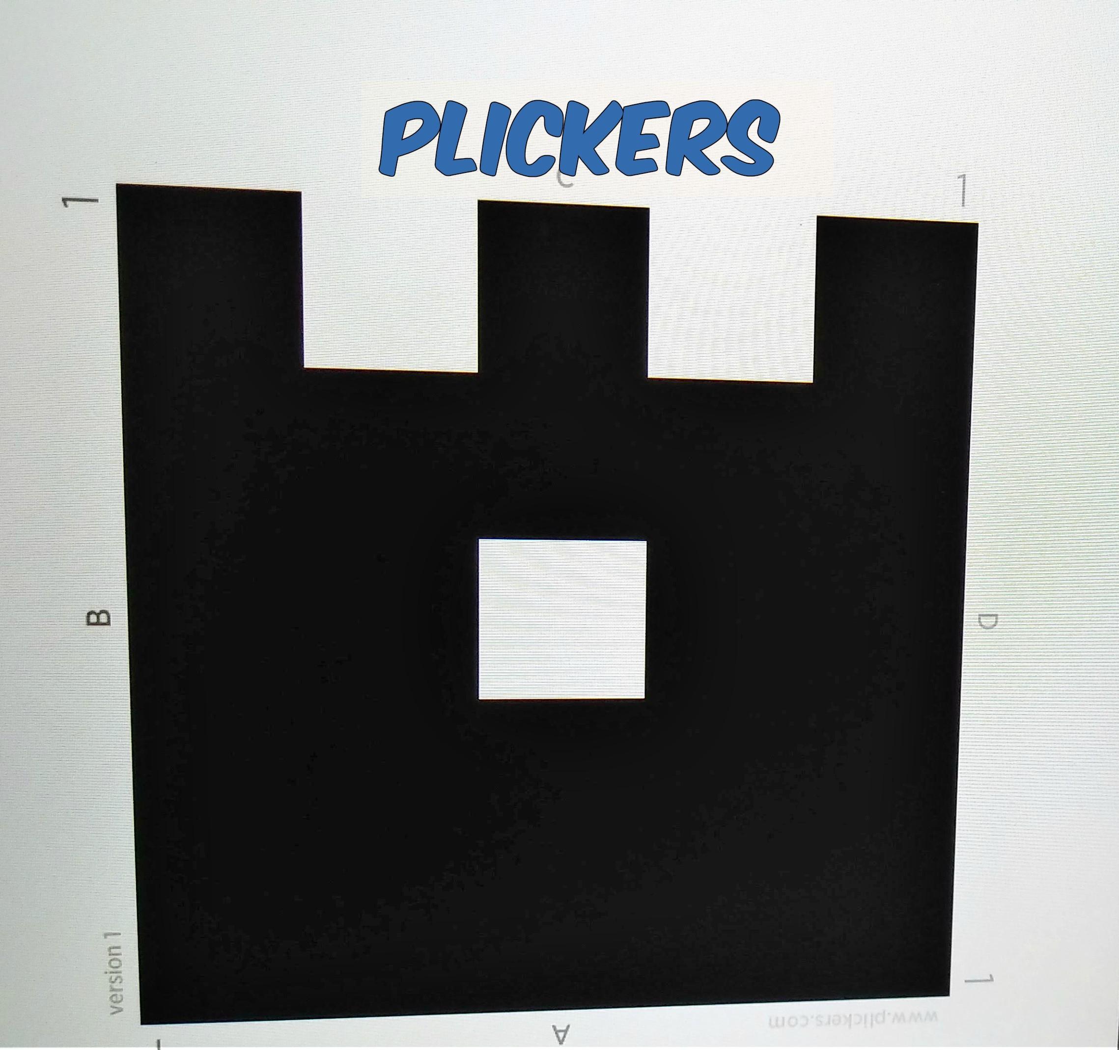 PLICKERS EN EL AULA 1