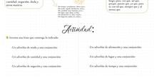 PRIMARIA 6º - LENGUA CASTELLANA Y LITERATURA - ADVERBIOS Y CONJUNCIONES