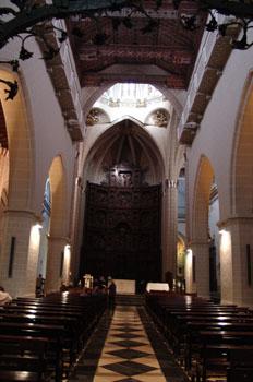 Nave central, Catedral de Teruel