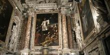 Detalle de la Iglesia de Jesús, Génova