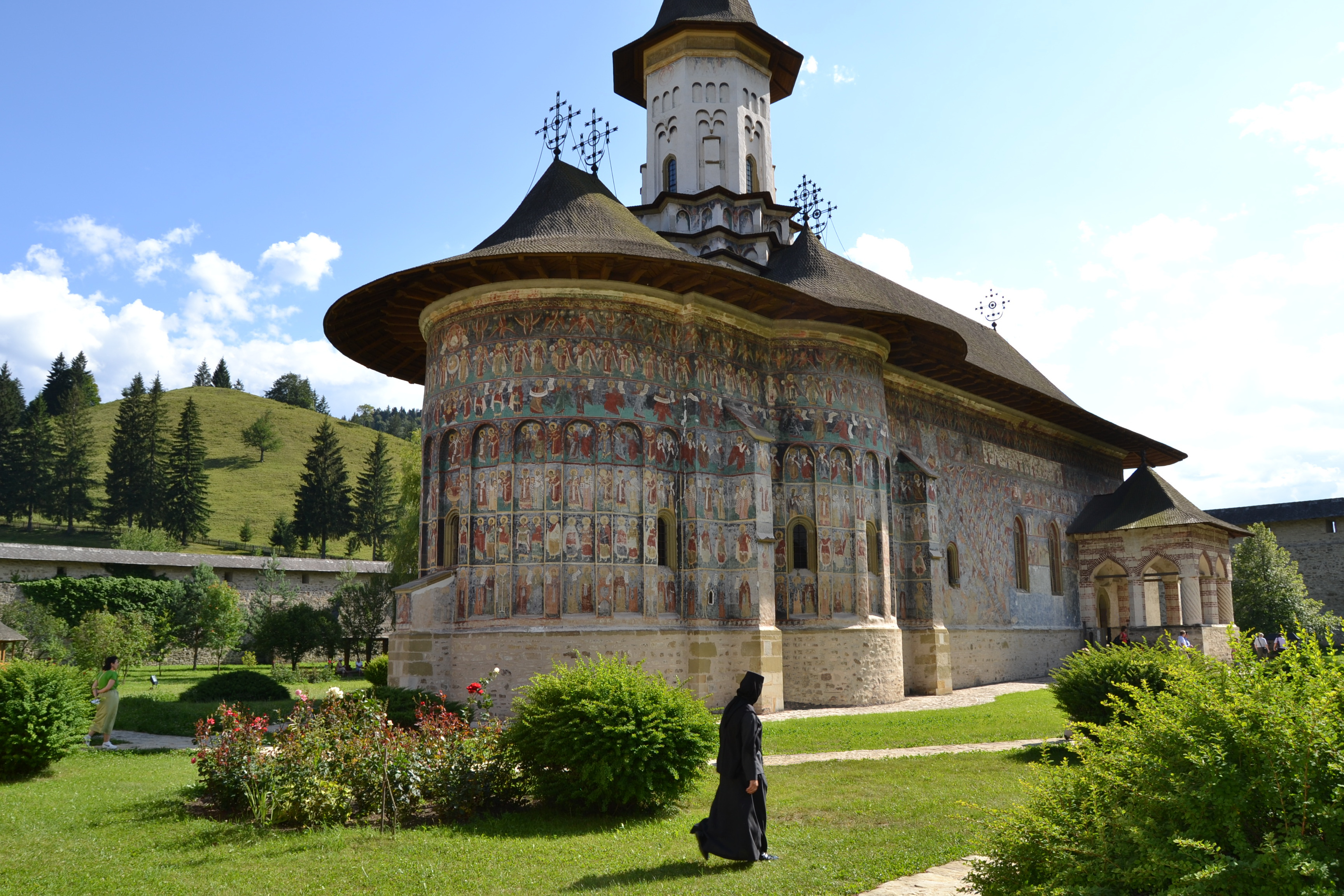 Monasterio de Sucevita. Iglesias Pintadas de Bucovina. Rumania