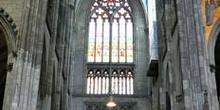 Detalle de interior de la catedral de Colonia, Alemania