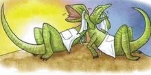 lagarto y lagarta
