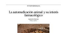 La automedicación animal y su interés farmacológico