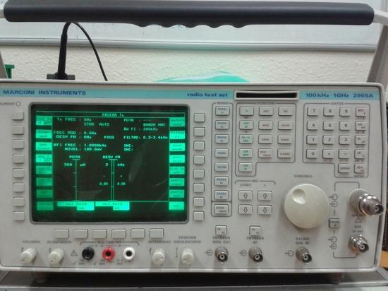 Analizador de radiocomunicaciones