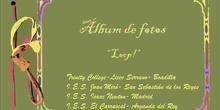 Álbum de fotos. ADOPTAR 2013-14 J. ADAMS. LOOP!