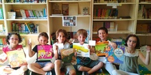LOS DE 5 AÑOS GRANDES LECTORES DE NUESTRA BIBLIOTECA 2