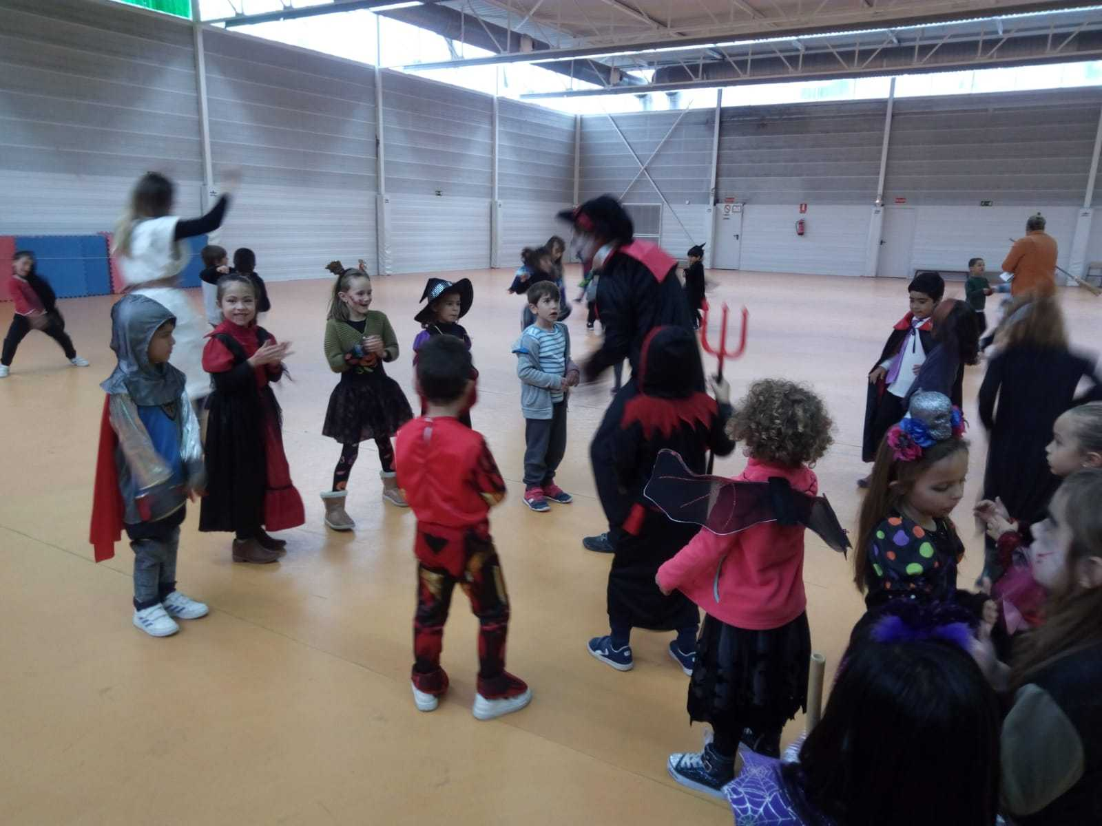 2018_10_31_1º disfruta terrorificamente en Halloween_CEIP FDLR_Las Rozas 15