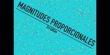 PRIMARIA - 6º - MAGNITUDES PROPORCIONALES - MATEMÁTICAS.MOV