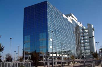 Edificio de AENA, aeropuerto de Barajas, Madrid