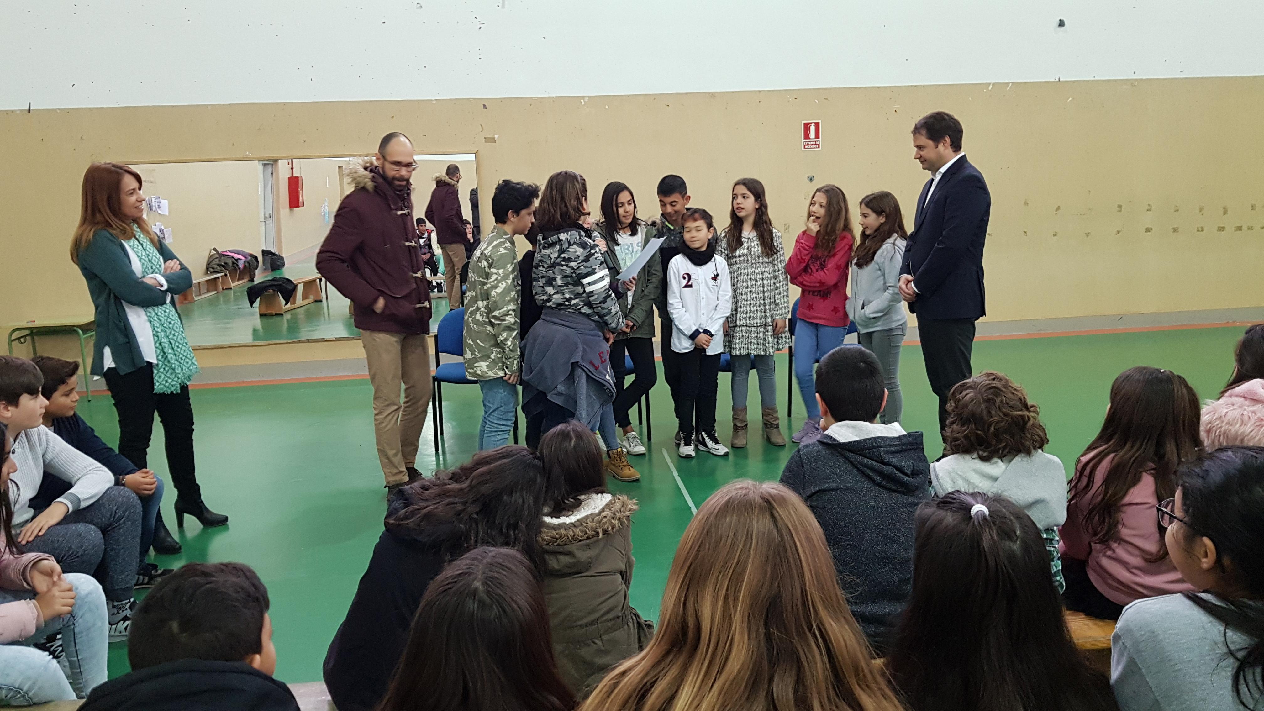 Visita del Alcalde de Torrejón de Ardoz al CEIP Andrés Segovia 10