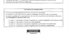 modelo examen matemáticas