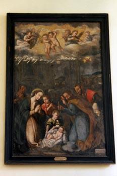 Pintura del claustro, Catedral de Badajoz