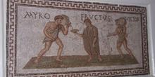 Mosaico, Museo del Bardo, Túnez