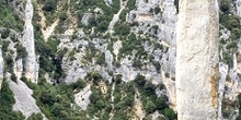 Agujas rocosas en el Barranco de Mascún, Huesca