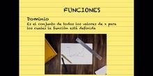 SECUNDARIA - 4º ESO - FUNCIONES DOMINIO - MATEMÁTICAS - FORMACIÓN