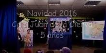 FESTIVAL DE NAVIDAD 2016- INFANTIL 5 AÑOS