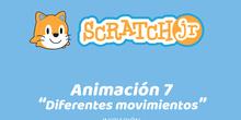 ScratchJr (Iniciación) 07-Diferentes movimientos