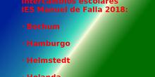 Intercambios escolares IES Manuel de Falla 2018