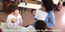 PRIMARIA 2º	INGLÉS	ANIMALS PROJECTS