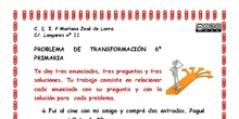 PROBLEMA DE TRANSFORMACION