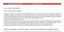 SÉQUENCE 4: L'ENFANT DE SABLE. LE FRANÇAIS POUR RACONTER LE MAROC.