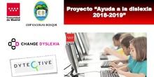 """3ª jornada formativa """"Ayuda a la dislexia""""_Presentación CEIP Escuelas Bosque"""