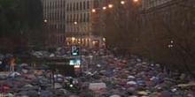 Manifestación en contra de los Atentados del 11-M, Madrid