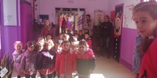 Visita al Berceo I de los alumnos de Infantil 4 años.