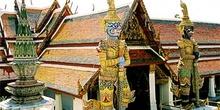 Guerreros guardianes, Bangkok, Tailandia