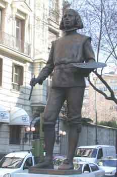 Monumento a Diego de Silva Velázquez, Madrid