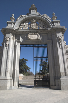 Paseo de la Argentina, Parque del Retiro, Madrid