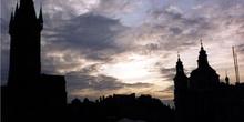 Praga a contraluz, República Checa