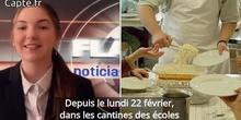 Polémica en comedores escolares de Lyon por Diana M. Polémique : les cantines scolaires de Lyon