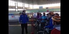 """Visita Velódromo de Galapagar. """"Madrid Comunidad Olímpica"""""""