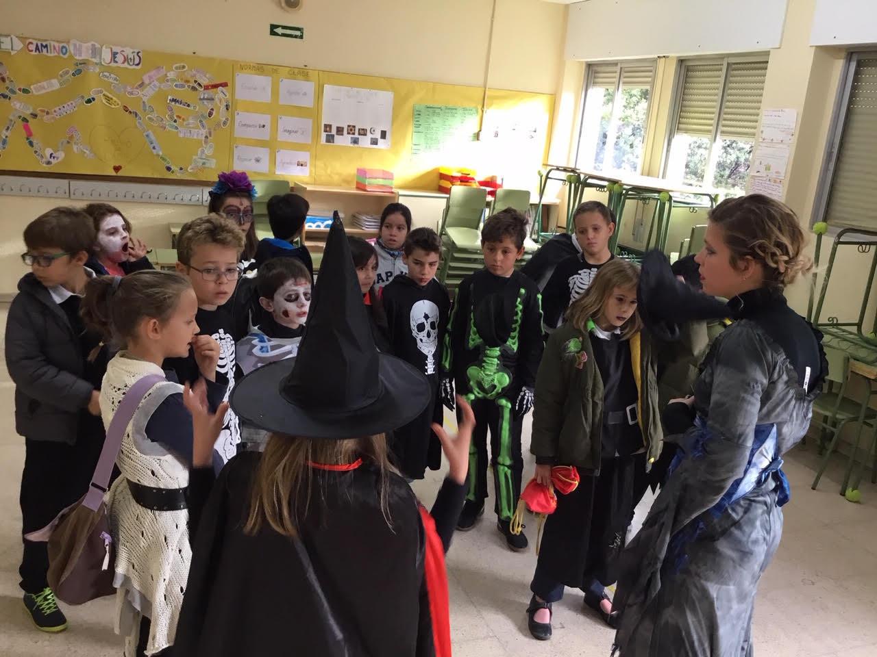 2018_10_31_Cuarto B disfruta en Halloween_CEIP FDLR_Las Rozas 12