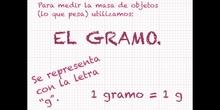 PRIMARIA - 3º - EL PESO - MATEMÁTICAS - FORMACIÓN