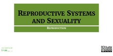Reproductive systems and sexuality