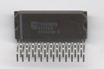 Amplificador de potencia para radio de automovil