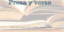 PRIMARIA 6ºA - LENGUA CASTELLANA Y LITERATURA - PROSA Y VERSO