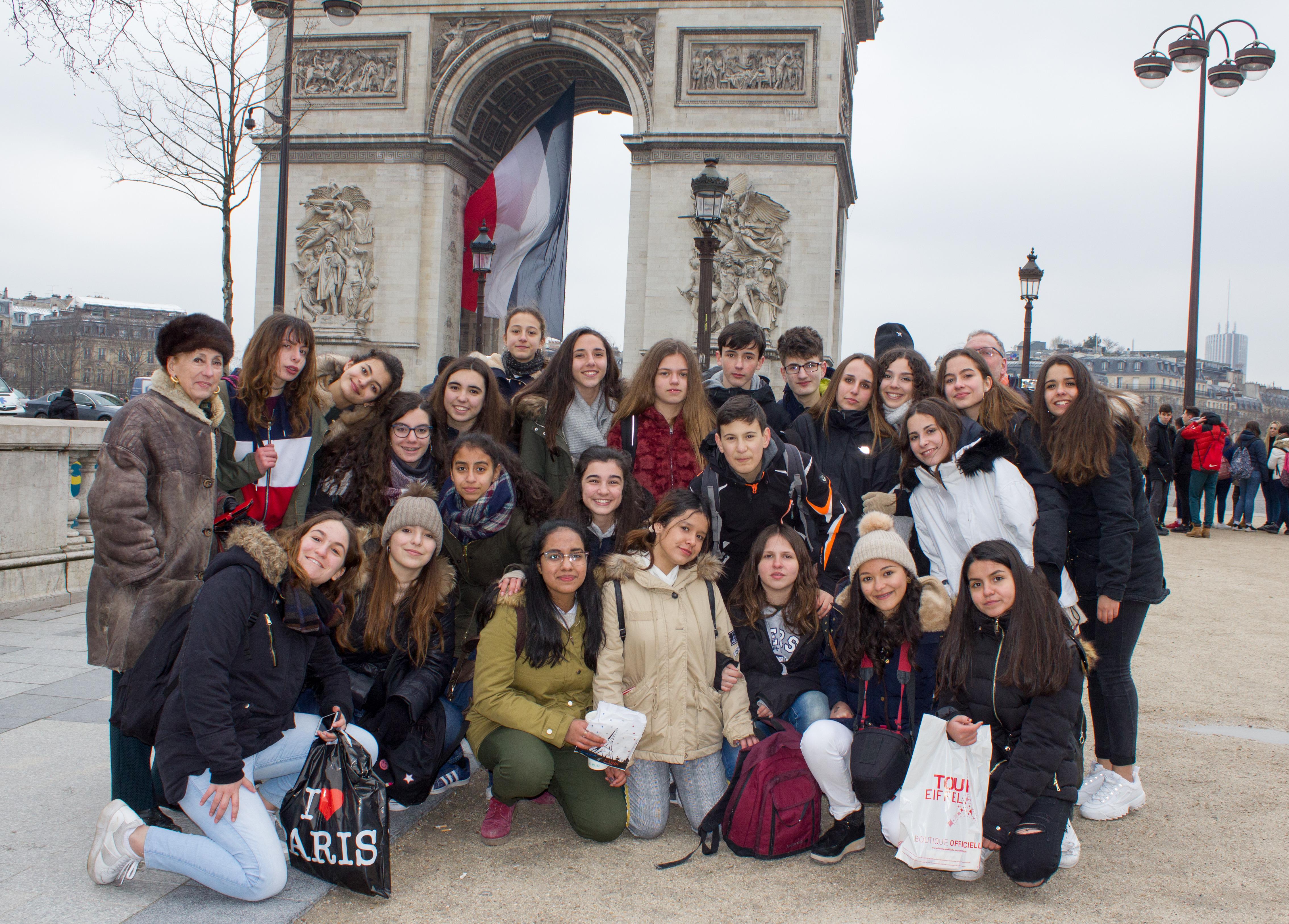 mas fotos intercambio con francia 2018 5