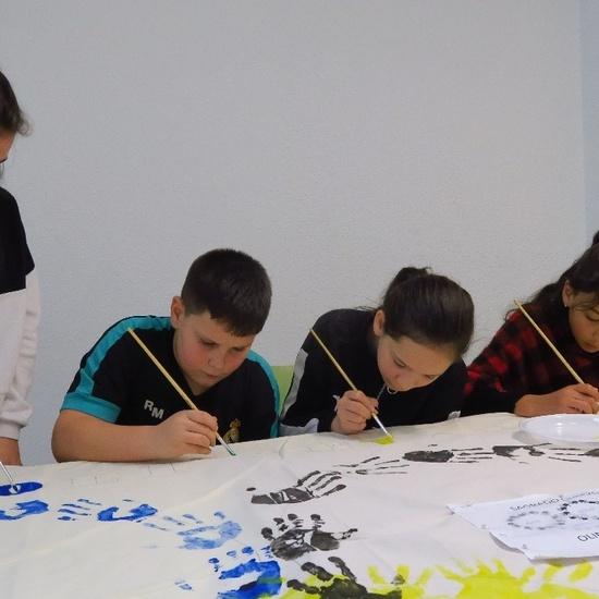 Los alumnos de 6º de Primaria preparan el carnaval 1