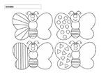 Simetría mariposa