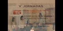 Ponencia de Dª Paloma Pérez Añón. <<Acogida digital en un instituto de innovación tecnológica>>.