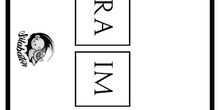 Fichas para trabajar las sílabas 1