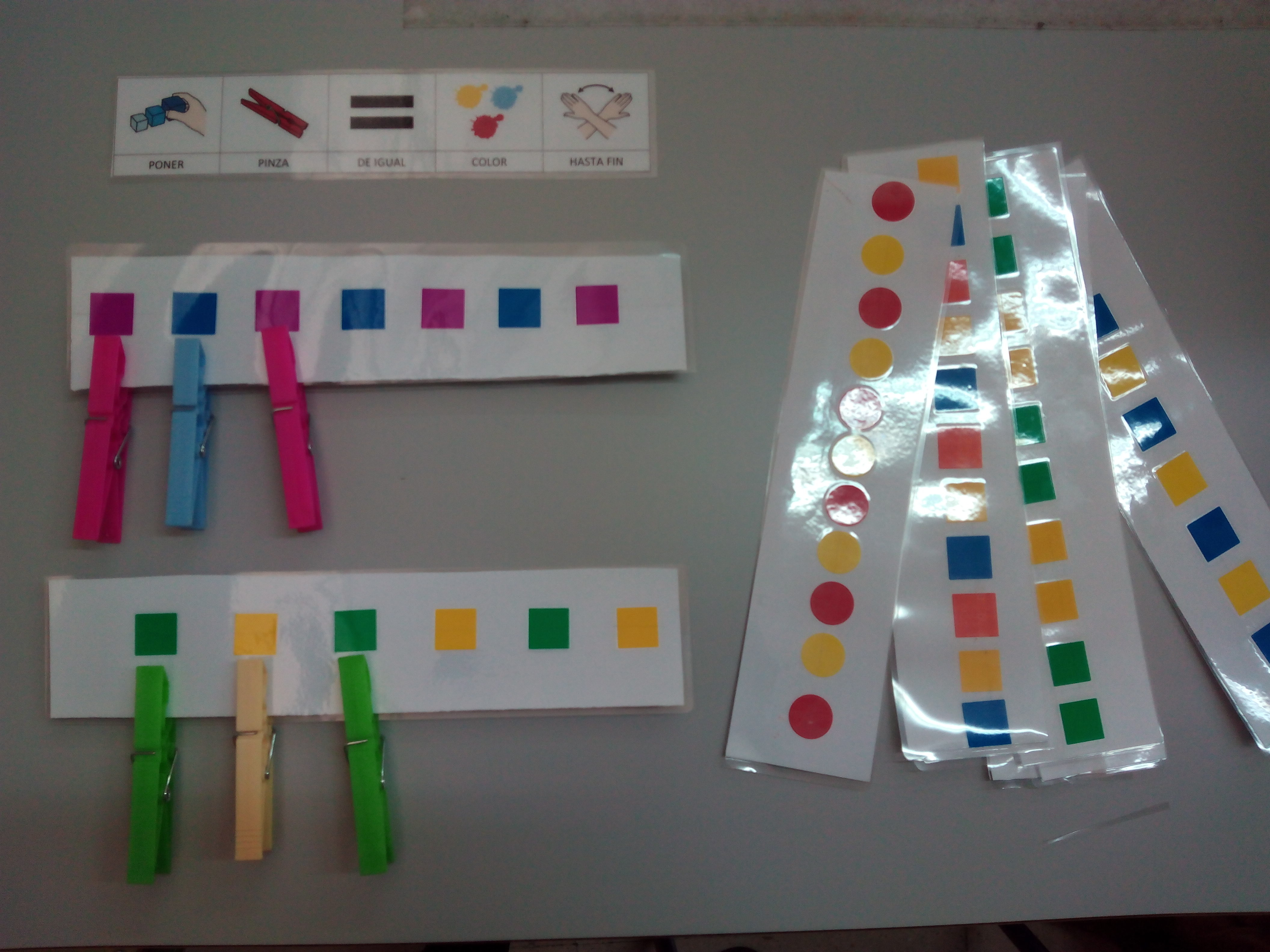 Seminario:material manipulativo para infantil y primaria adaptado a alumnos con T.E.A. 49