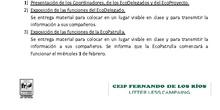 Acta 1ª Reunión Comité Ecodelegados_CEIP Fernando de los Ríos_Las Rozas_Curso 2017-2018